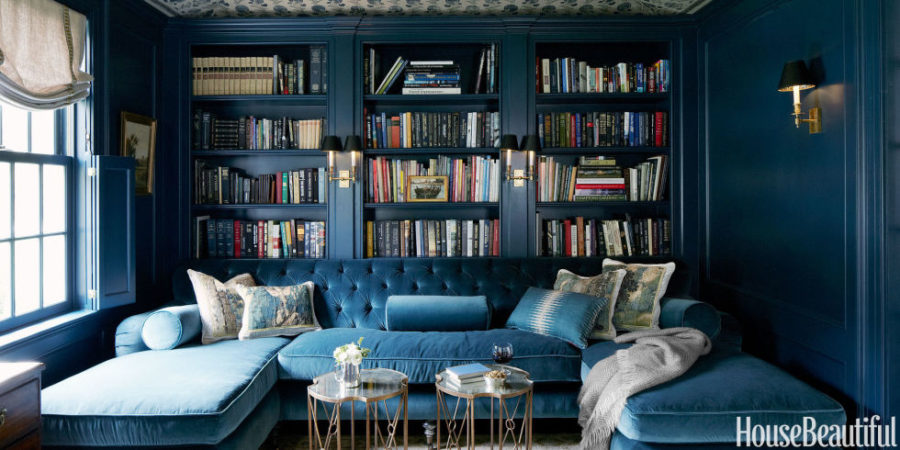 Blue Home Library