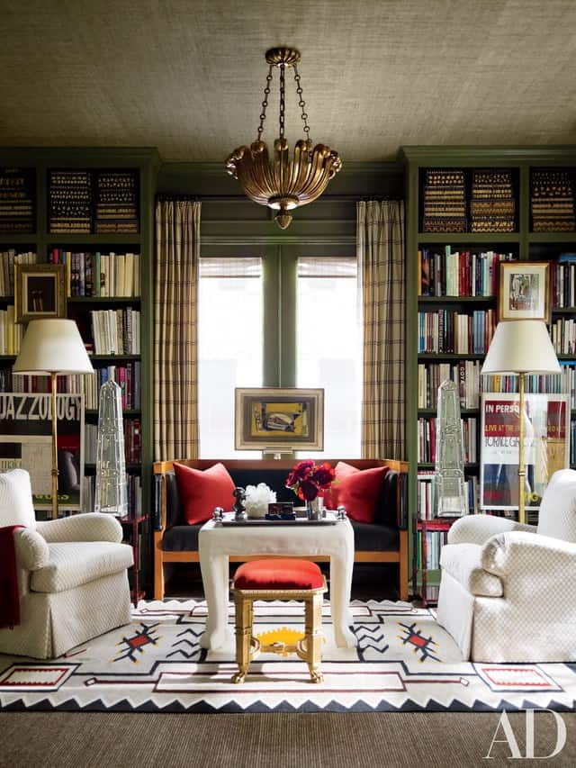 Cottage Home Library