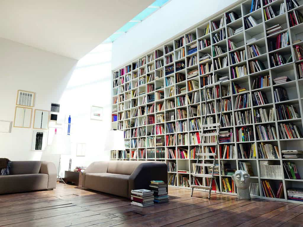 Home Libraries Designs