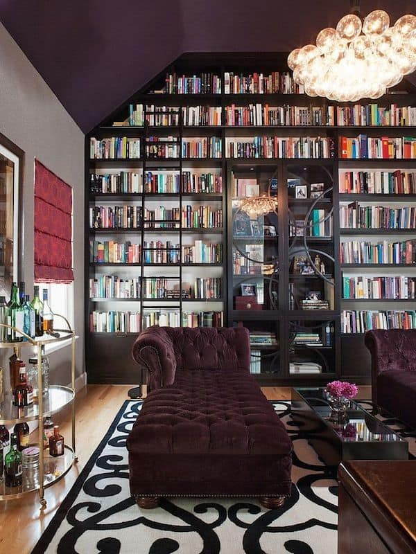 Luxurious Home Library