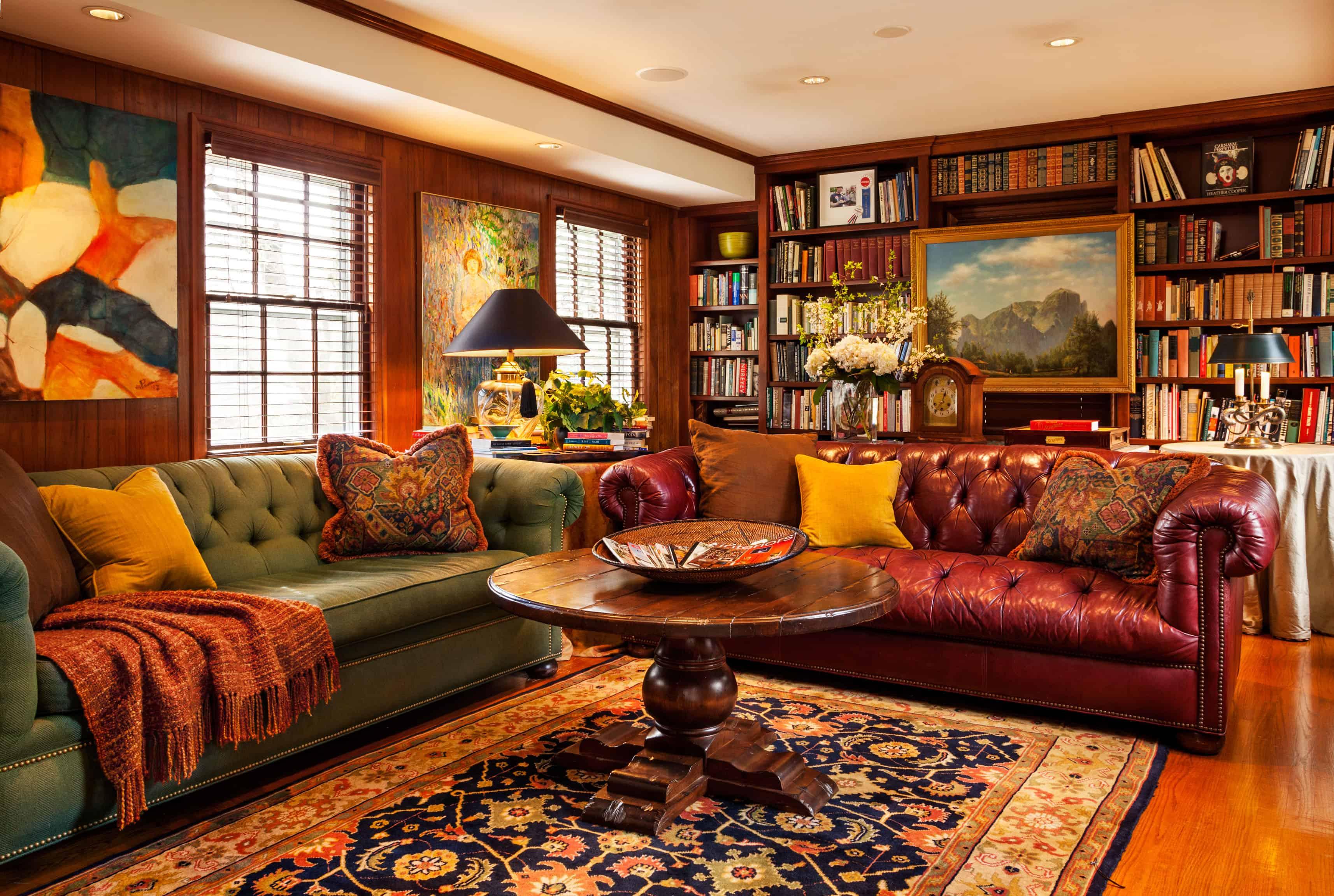 Small-home-library-design-ideas