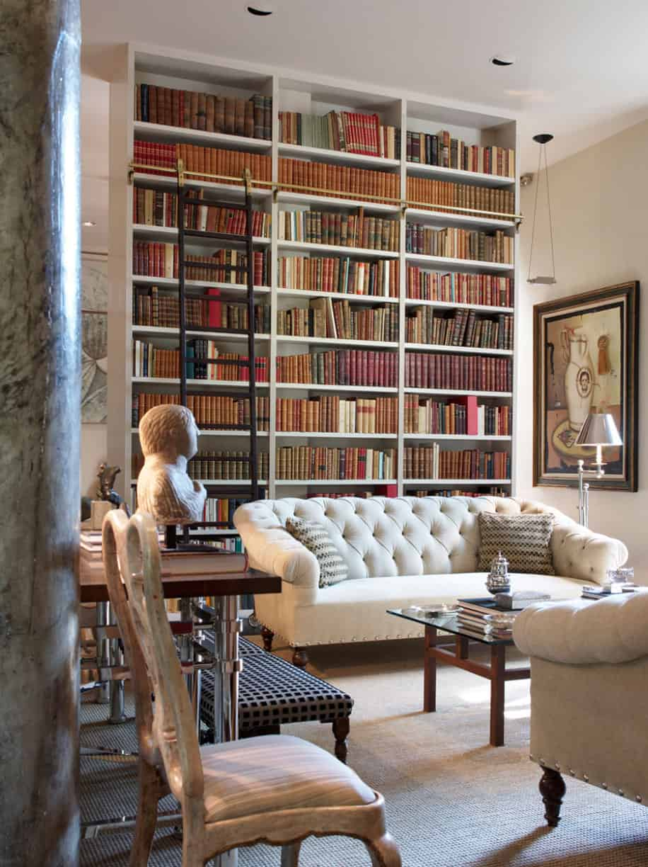 Traditional Home Libraries