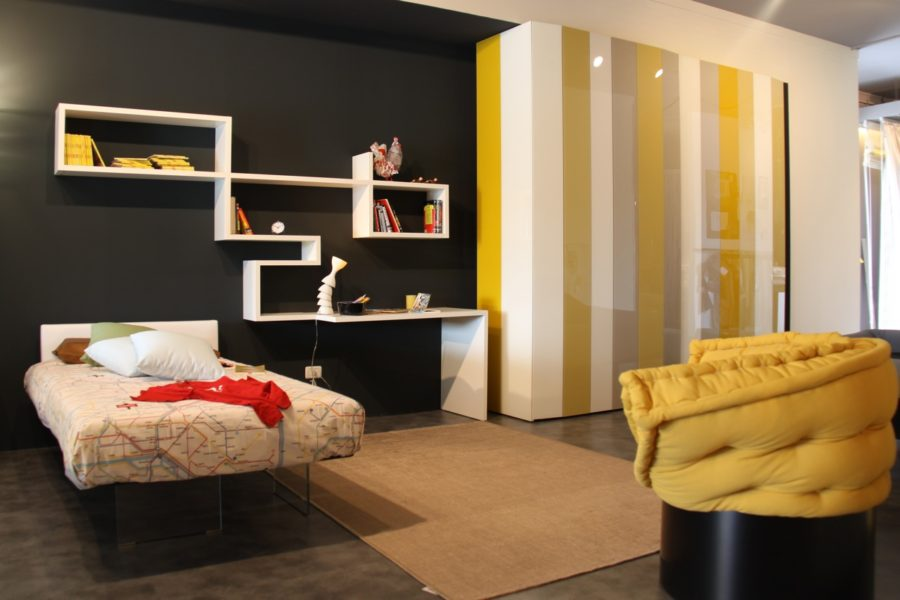 View In Gallery 24 Yellow Grey Black Bedroom