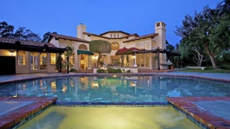 Aaron Rodgers' house in Del Mar
