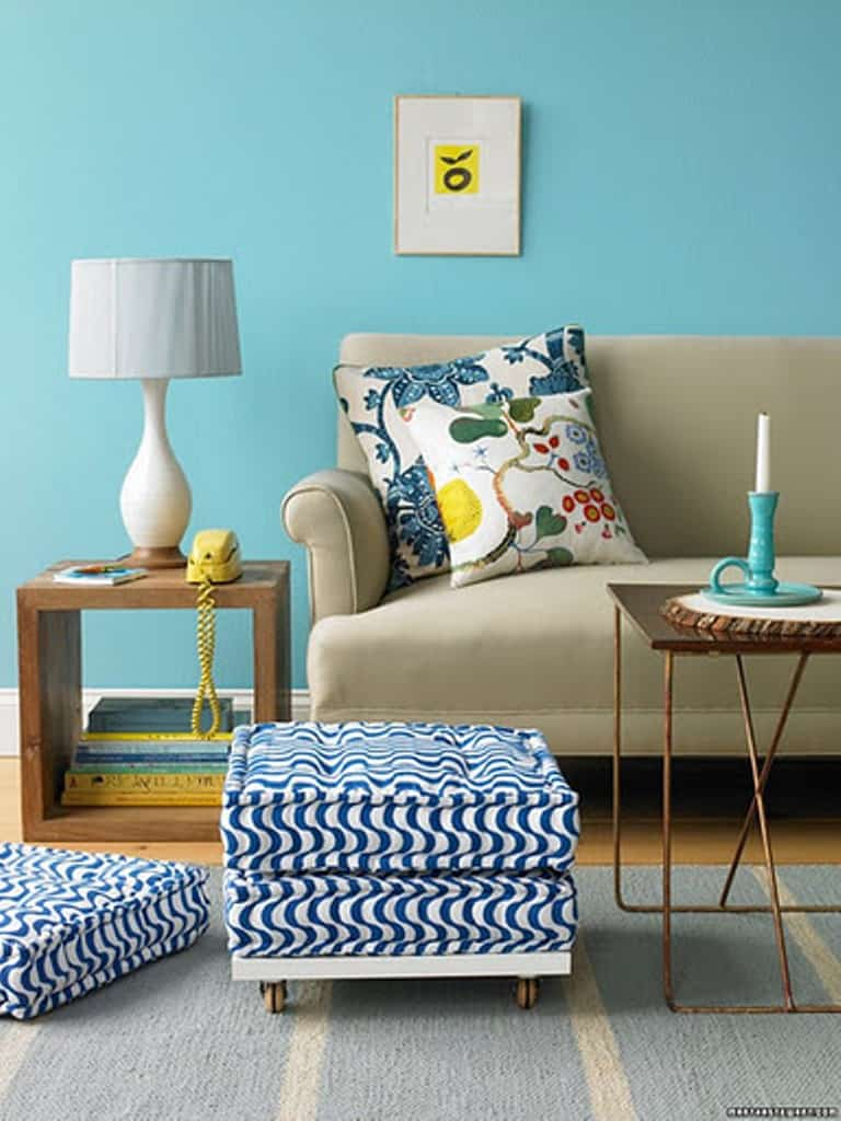 40 accent color combinations to get your home decor wheels Room wall colour combination