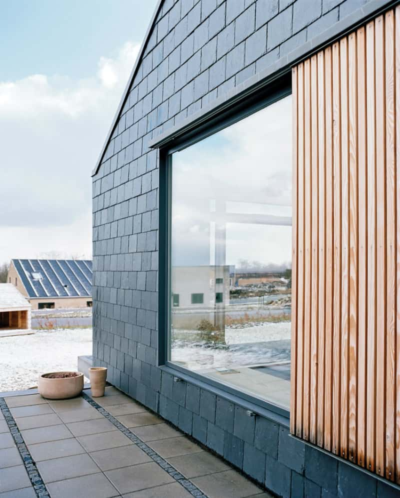 Modern exterior shutters for a stylish facade for Architectural siding