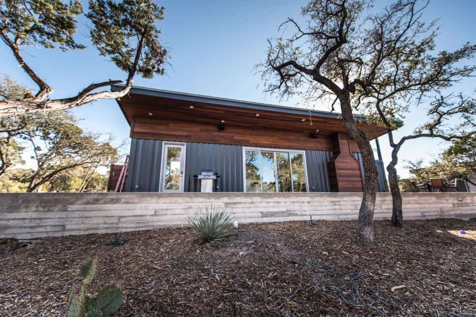 Austin shipping container house