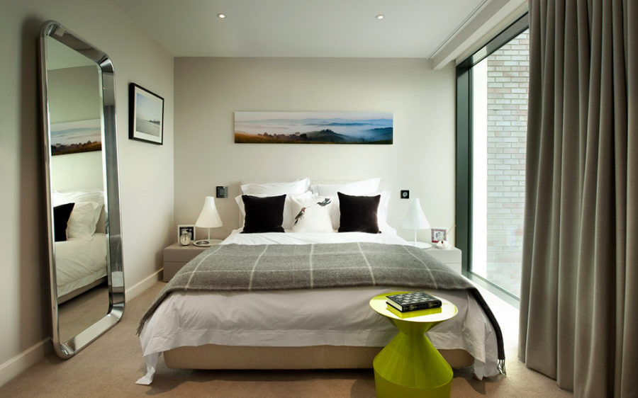 Bedroom in London penthouse