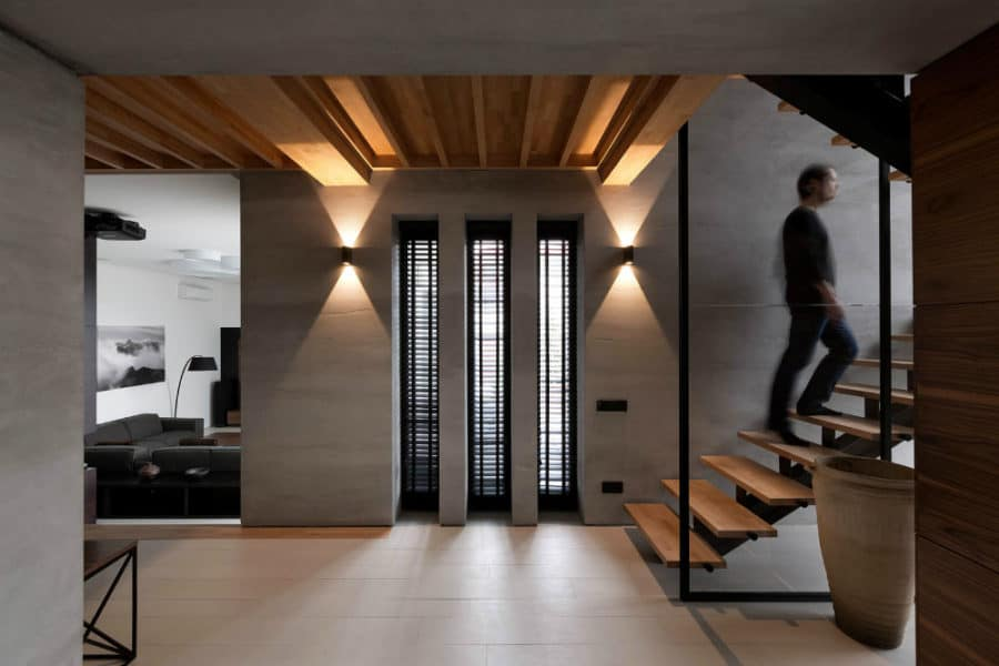 Black-shutters-in-house-by-NOTT-Design-Studio