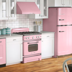 Blush Pink Kitchen 285x285 Decorating With Pink Accents: 20 Ways to Create This Look