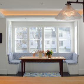 Bright Breakfast Nook 285x285 Breakfast Room Ideas Will Recharge Your Mornings At Home!