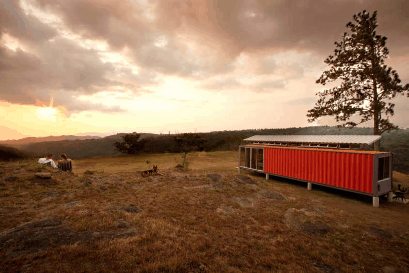 Containers of Hope by Benjamin Garcia Saxe Architecture