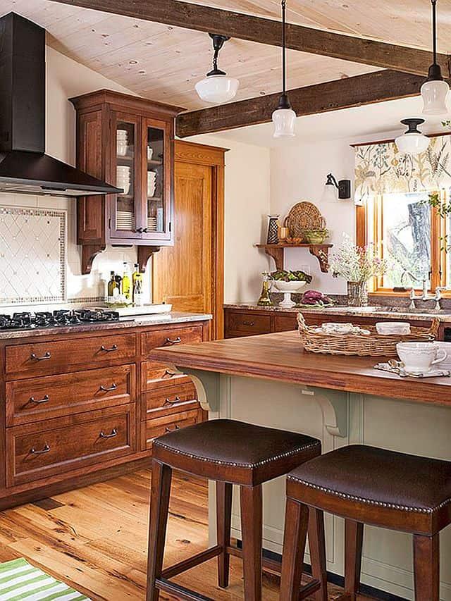 Cream and Espresso Kitchen