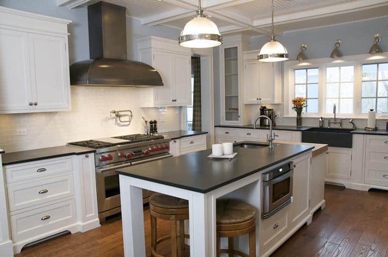 Custom kitchen by Century Bay Builders