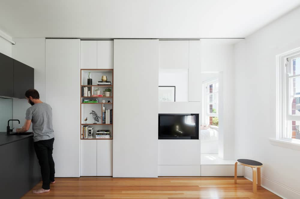 Darlinghurst Apartment by Brad Swartz Architect