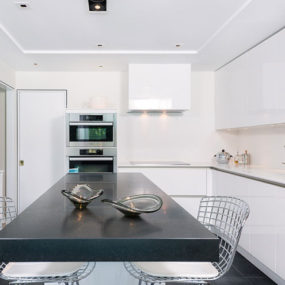 Design First Interiors contemporary kitchen 285x285 Slate Countertops For your Kitchen and Bathroom