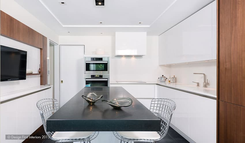 Design First Interiors contemporary kitchen