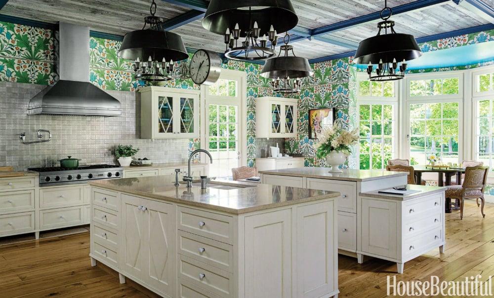 Double kitchen island