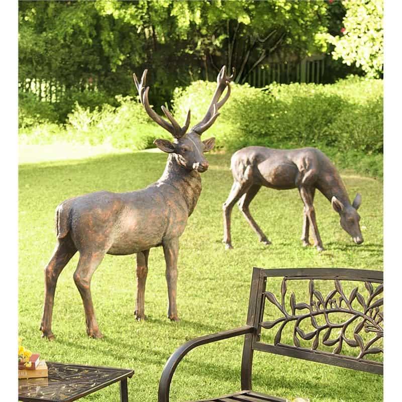 Fiberglass Deer Statues
