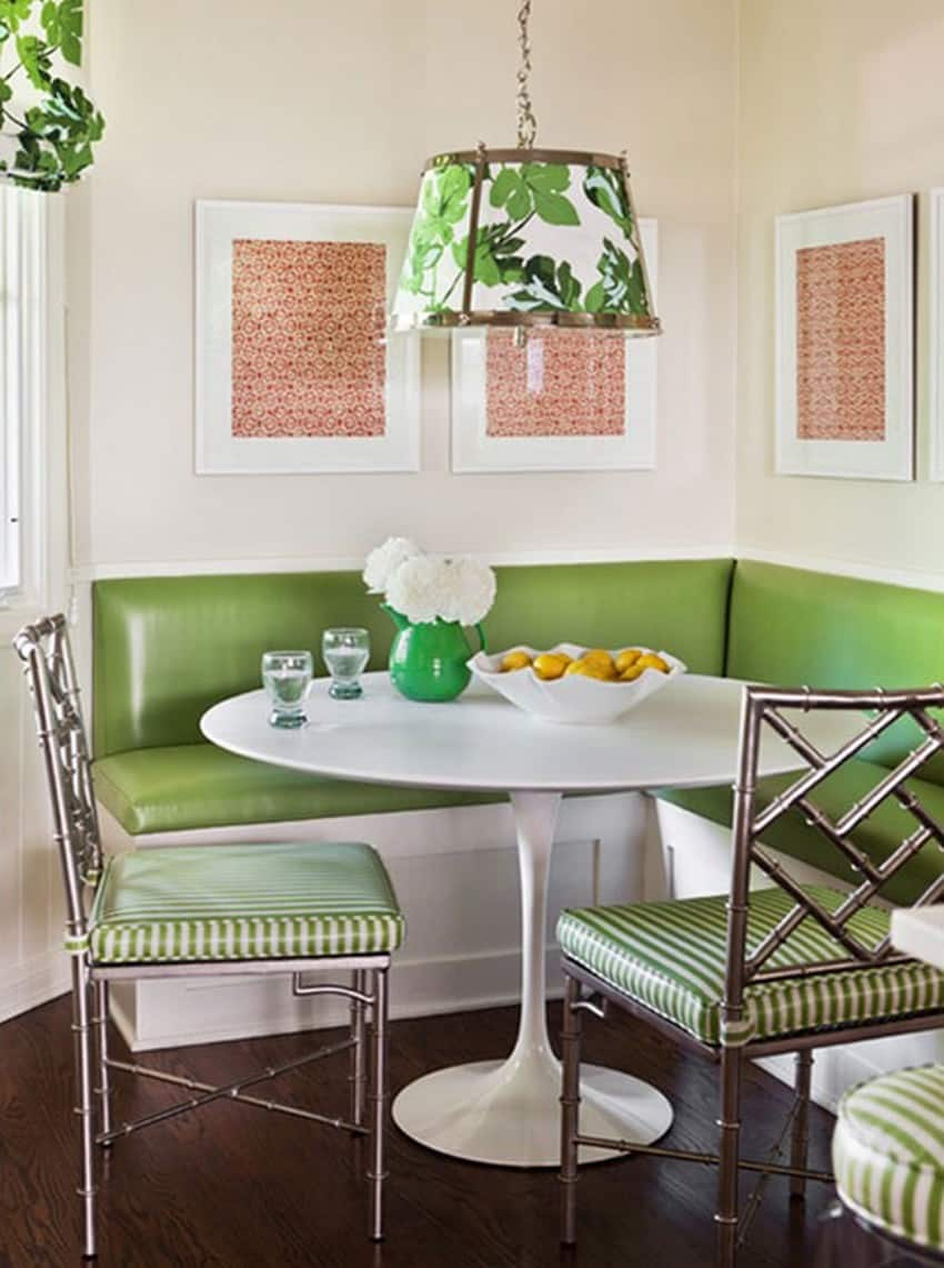 Green Breakfast Room