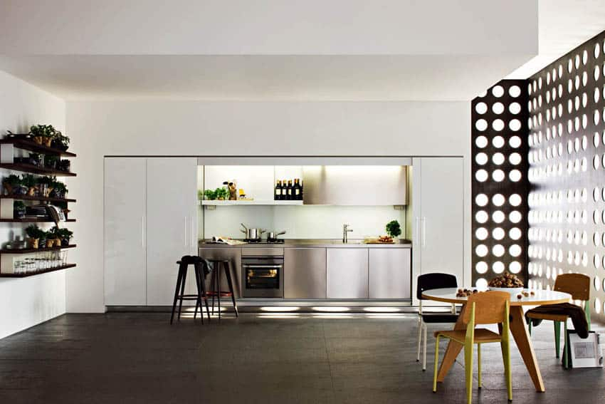 Hidden kitchen from Molteni & Dada