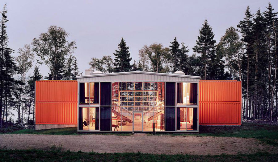House by Adam Kalkin 900x526 40 Modern Shipping Container Homes for Every Budget