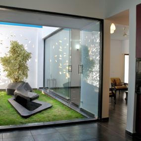 House in Bangalore by Cadence 285x285 Modern Garden Designs for Great and Small Outdoors
