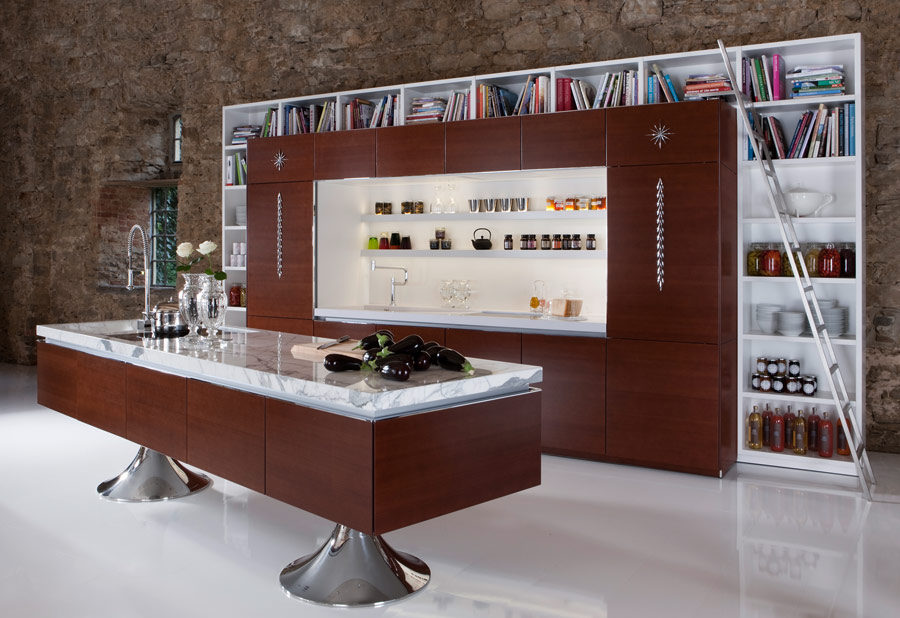Library kitchen by Philippe Starck for Warendorf