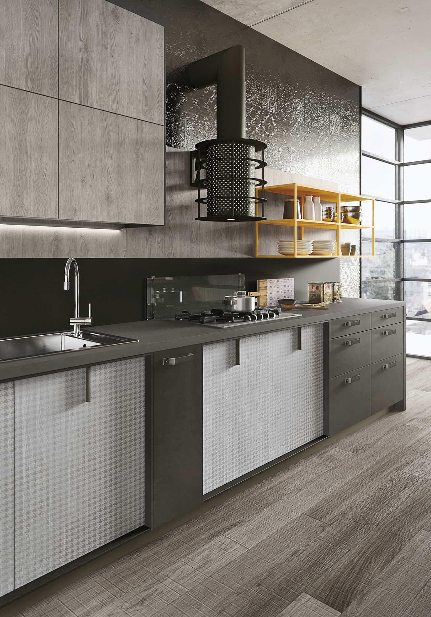 Loft kitchen by Snaidero