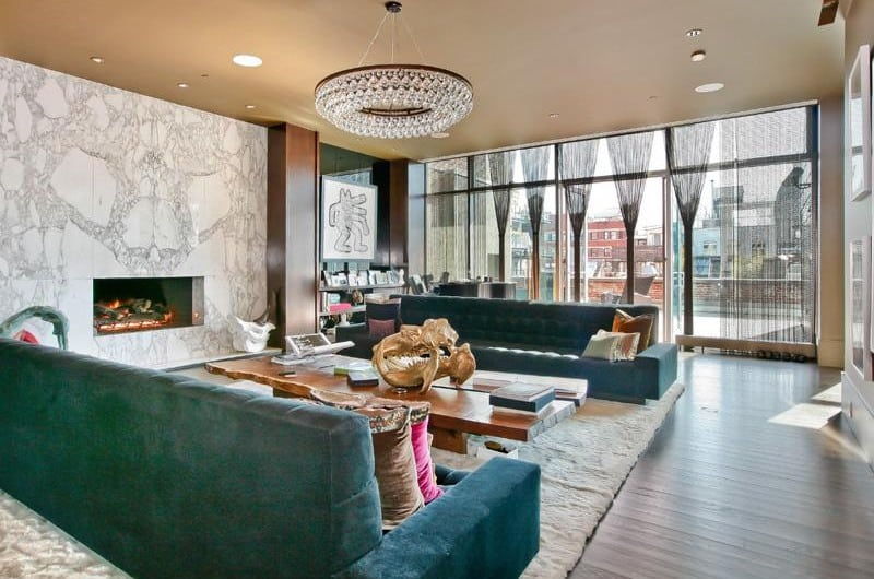 Luxury triplex penthouse in Soho