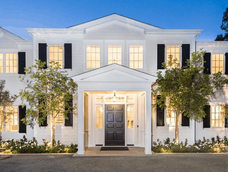 Mike Strahan's LA mansion