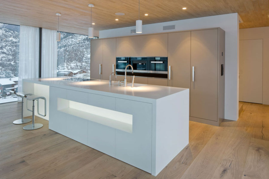 Minergie House kitchen by Zeiter Berchtold