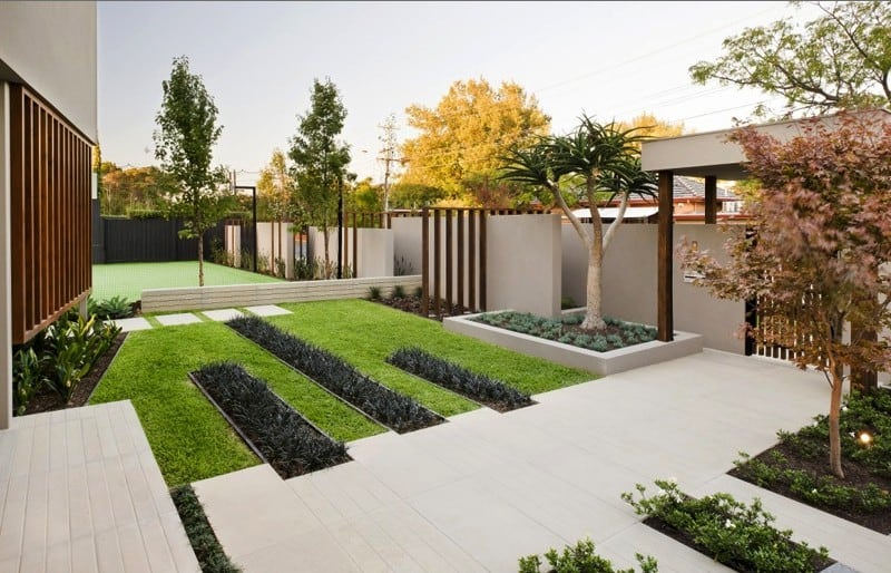 Exceptional View In Gallery Minimalist Garden Design