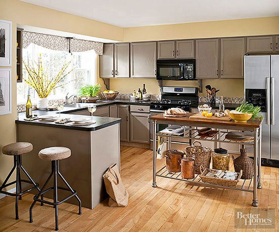 Kitchen colors color schemes and designs for Kitchen interior colour