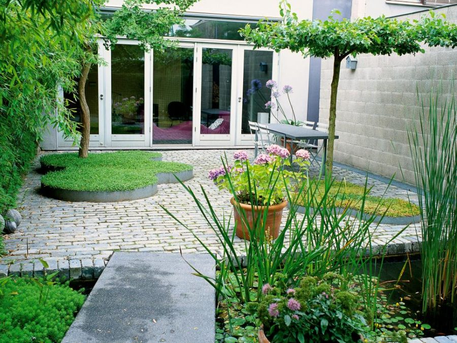 Modern garden designs for great and small outdoors - Adornos para jardines exteriores ...