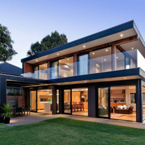 Modern house in Auckland New Zealand 285x285 Modern New Zealand House by Creative Arch, Opens up to Sea Views