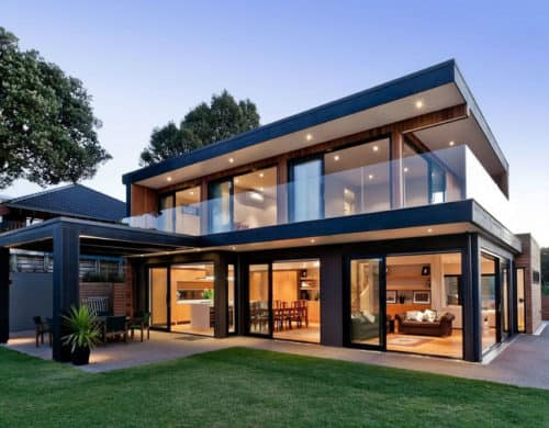 Modern New Zealand House by Creative Arch, Opens up to Sea Views