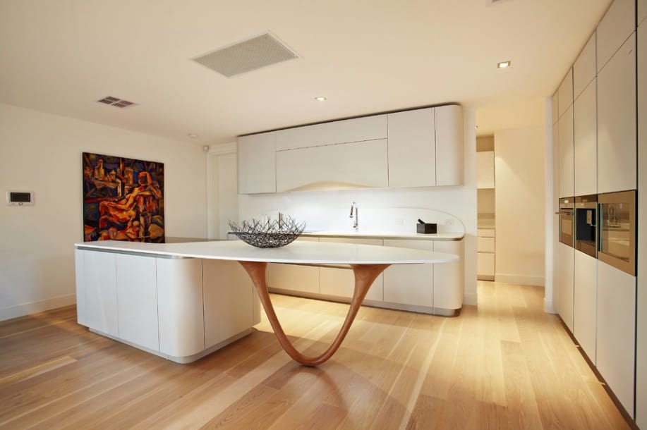 Modern unique kitchen