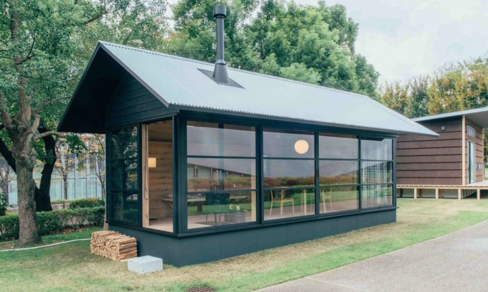 Muji Hut tiny home