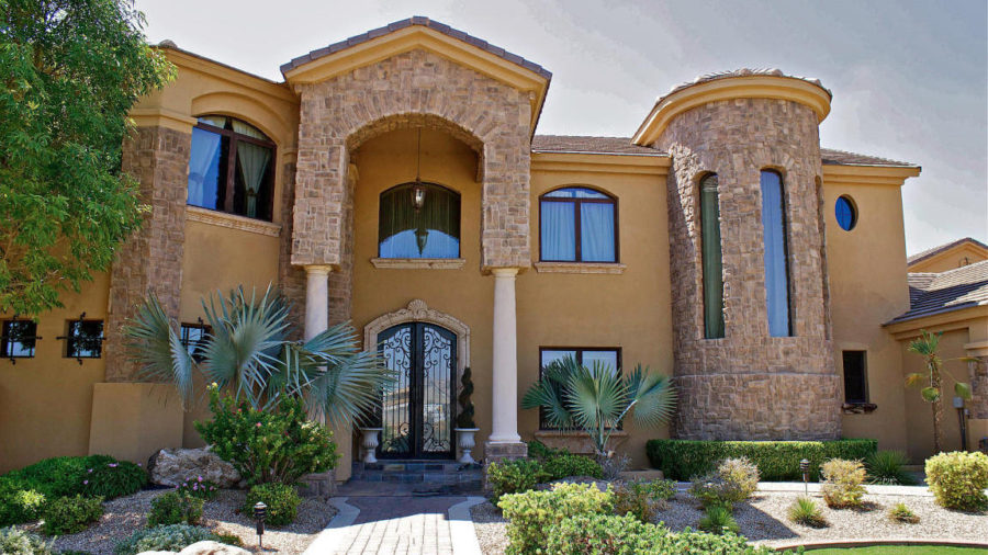 Patrick Peterson's house in Gilbert, Arizona