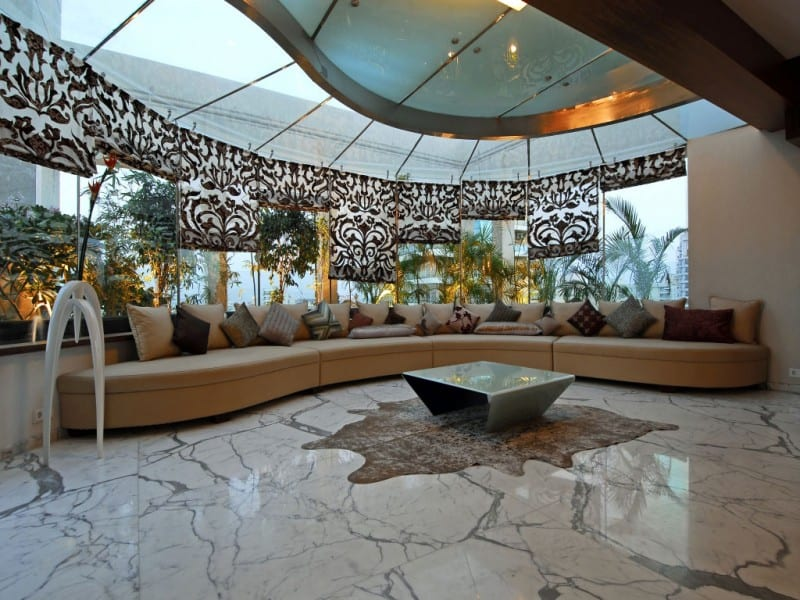 View In Gallery Penthouse In Mumbai Awesome Design