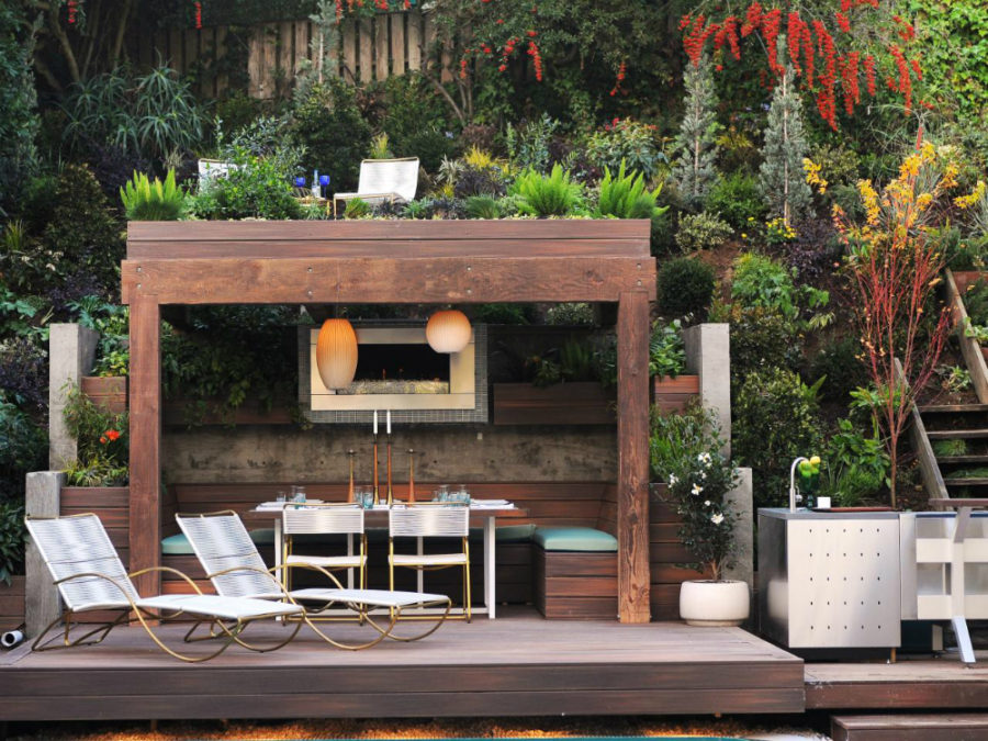 Do It Yourself Home Design: Modern Garden Designs For Great And Small Outdoors