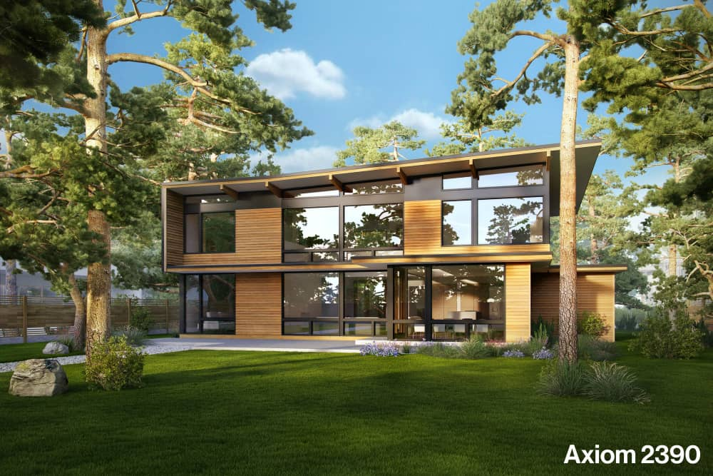 Prefab home design by Dwell and Turkel Design
