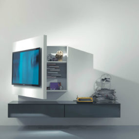 Rack 3 Tv Cabinet By Firma 285x285 21 Floating Media Center Designs For Clutter Free Living