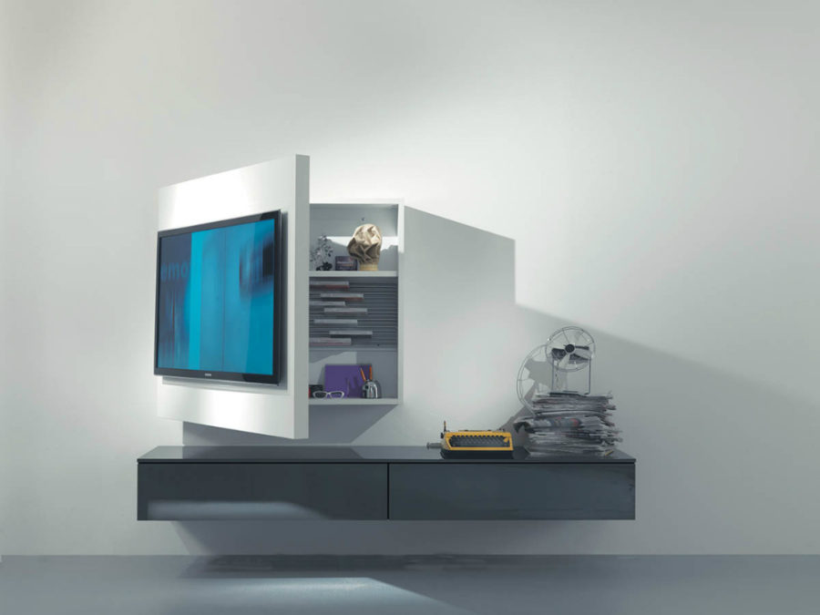 Rack 3 TV cabinet by Firma