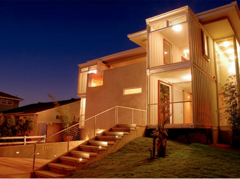 Redondo Beach Shipping Container House