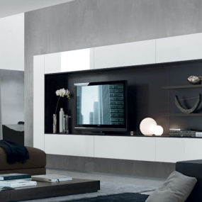 Carefully Chosen Floating Media Center Is Not Only About Style Though Its Functionality Should Correspond With Your Needs If You Have A Lot Of Things In