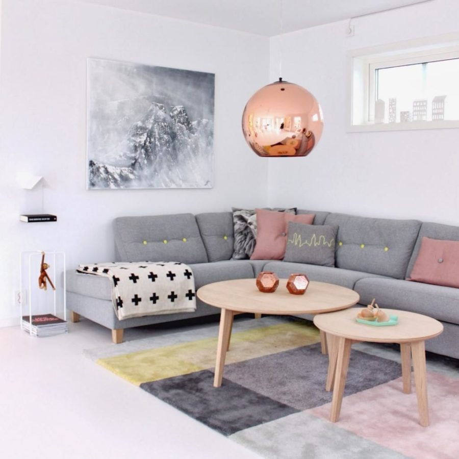 23 Best Copper And Blush Home Decor Ideas And Designs For 2019: 25 Scandinavian Interior Designs To Freshen Up Your Home