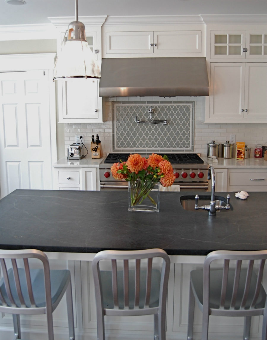 View in gallery Slate countertop design