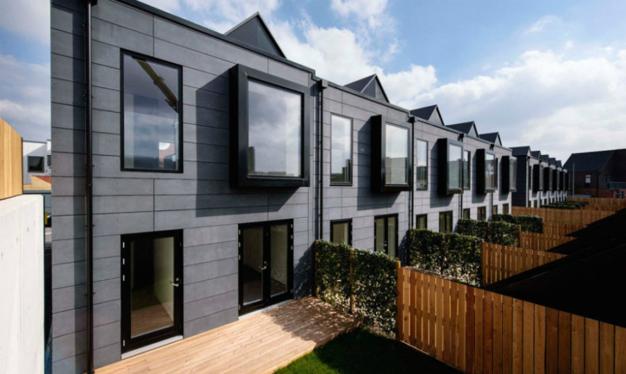 Stackable hoUSe units by Urban Splash